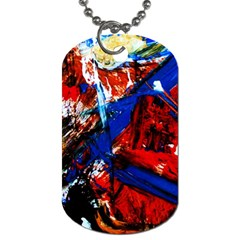 Mixed Feelings 9 Dog Tag (two Sides)