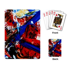 Mixed Feelings 9 Playing Card