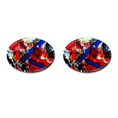 Mixed Feelings 9 Cufflinks (oval)