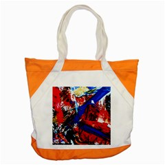 Mixed Feelings 9 Accent Tote Bag by bestdesignintheworld