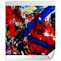 Mixed Feelings 9 Canvas 20  X 24   by bestdesignintheworld