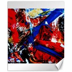 Mixed Feelings 9 Canvas 11  X 14