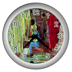 Point Of View 9 Wall Clocks (silver)