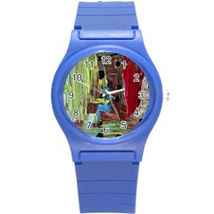 Point Of View 9 Round Plastic Sport Watch (s)
