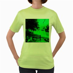 Lake Park 20 Women s Green T Shirt