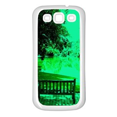 Lake Park 20 Samsung Galaxy S3 Back Case (white)