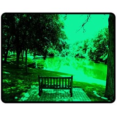 Lake Park 20 Double Sided Fleece Blanket (medium)