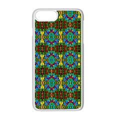 Colorful 29 Apple Iphone 8 Plus Seamless Case (white)