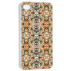 Artwork By Patrick Colorful 31 Apple Iphone 4/4s Seamless Case (white)
