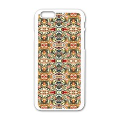 Artwork By Patrick Colorful 31 Apple Iphone 6/6s White Enamel Case
