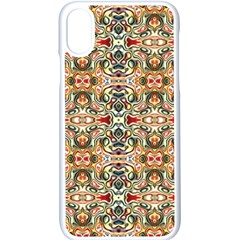 Artwork By Patrick Colorful 31 Apple Iphone X Seamless Case (white)