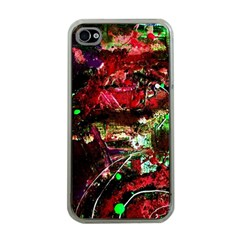 Bloody Coffee 2 Apple Iphone 4 Case (clear) by bestdesignintheworld