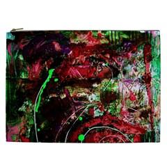 Bloody Coffee 2 Cosmetic Bag (xxl)  by bestdesignintheworld