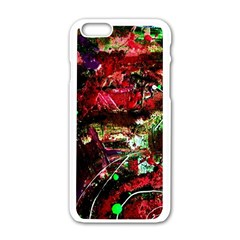 Bloody Coffee 2 Apple Iphone 6/6s White Enamel Case by bestdesignintheworld