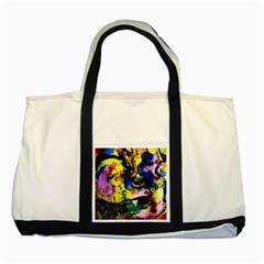 Yellow Roses 2 Two Tone Tote Bag