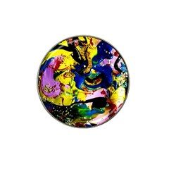 Yellow Roses 2 Hat Clip Ball Marker (4 Pack)