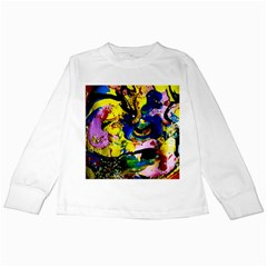 Yellow Roses 2 Kids Long Sleeve T Shirts