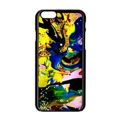Yellow Roses 2 Apple Iphone 6/6s Black Enamel Case