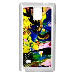 Yellow Roses 2 Samsung Galaxy Note 4 Case (white)
