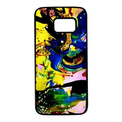 Yellow Roses 2 Samsung Galaxy S7 Black Seamless Case