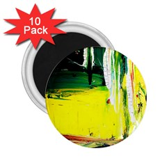 Poppies In An Abandoned Yard 10 2 25  Magnets (10 Pack)  by bestdesignintheworld