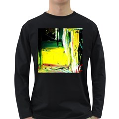 Poppies In An Abandoned Yard 10 Long Sleeve Dark T Shirts