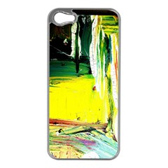 Poppies In An Abandoned Yard 10 Apple Iphone 5 Case (silver)