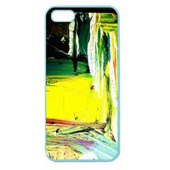 Poppies In An Abandoned Yard 10 Apple Seamless Iphone 5 Case (color) by bestdesignintheworld