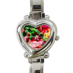 Red Cross 4 Heart Italian Charm Watch by bestdesignintheworld