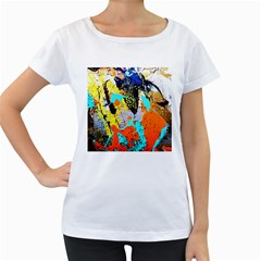Africa  Kenia Women s Loose Fit T Shirt (white)