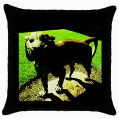 Guard 2 Throw Pillow Case (black)