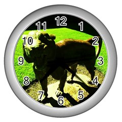 Guard 2 Wall Clocks (silver)
