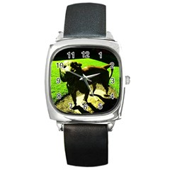 Guard 2 Square Metal Watch
