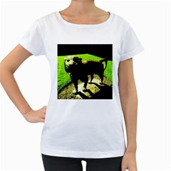 Guard 2 Women s Loose Fit T Shirt (white)