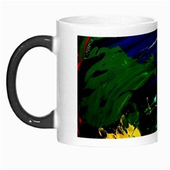 Tumble Weed And Blue Rose Morph Mugs