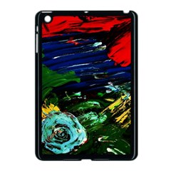 Tumble Weed And Blue Rose Apple Ipad Mini Case (black)