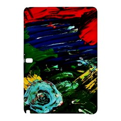 Tumble Weed And Blue Rose Samsung Galaxy Tab Pro 12 2 Hardshell Case
