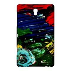 Tumble Weed And Blue Rose Samsung Galaxy Tab S (8 4 ) Hardshell Case  by bestdesignintheworld