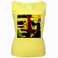 Collosium   Swards And Helmets 8 Women s Yellow Tank Top