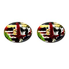 Collosium   Swards And Helmets 8 Cufflinks (oval)