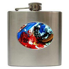 Mixed Feelings 4 Hip Flask (6 Oz) by bestdesignintheworld