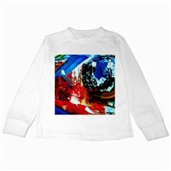 Mixed Feelings 4 Kids Long Sleeve T Shirts