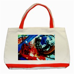 Mixed Feelings 4 Classic Tote Bag (red)