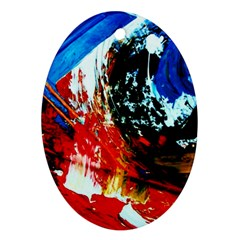 Mixed Feelings 4 Oval Ornament (two Sides) by bestdesignintheworld