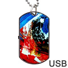 Mixed Feelings 4 Dog Tag Usb Flash (one Side) by bestdesignintheworld