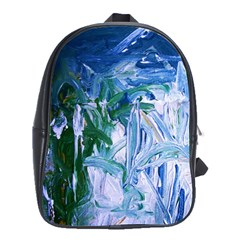 Close To Pinky,s House 9 School Bag (large)