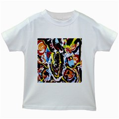 Inposing Butterfly 1 Kids White T Shirts