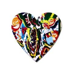 Inposing Butterfly 1 Heart Magnet by bestdesignintheworld