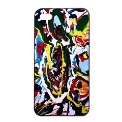 Inposing Butterfly 1 Apple Iphone 4/4s Seamless Case (black)