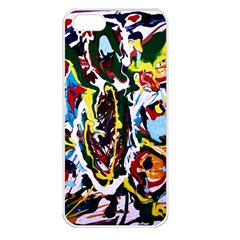 Inposing Butterfly 1 Apple Iphone 5 Seamless Case (white)